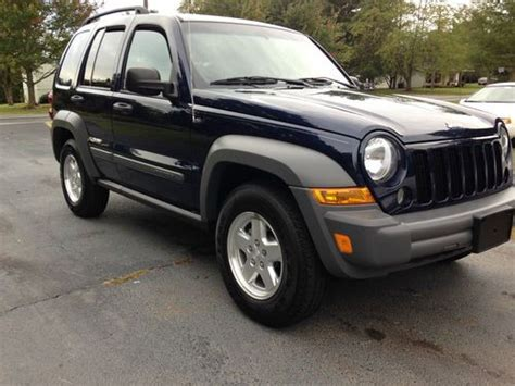 2006 Jeep Liberty Diesel Purchase Used 2006 Jeep Liberty Sport Crd 4wd Turbo Diesel