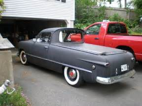1949 coupe chopped to a ranchero type body it has a flathead 8 with 3