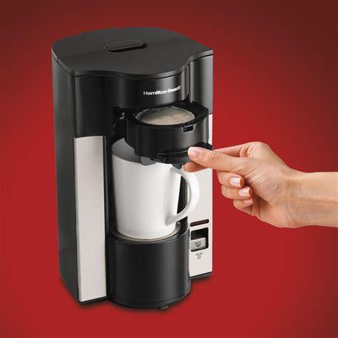 Amazon.com   Hamilton Beach Stay or Go Personal Cup Pod Coffee Maker 49990Z: Single Serve