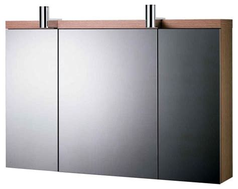Ideal Standard Daylight Mirrored Wall Cabinet With Lights Modern Bathroom Mirror Cabinets