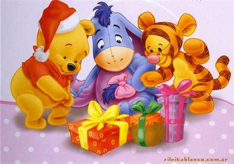 imagenes de winnie pooh bebe en navidad we wish you a merry christmas