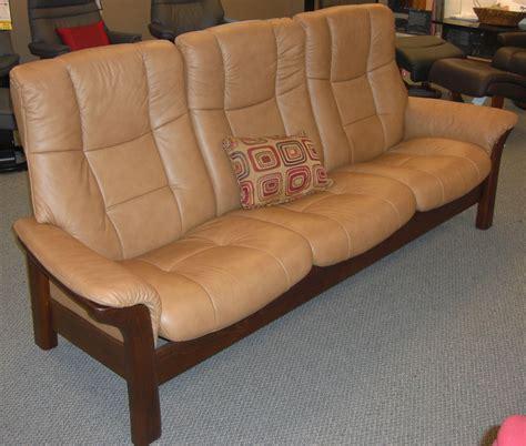 sofas that sit high stressless buckingham 3 seat high back sofa paloma taupe