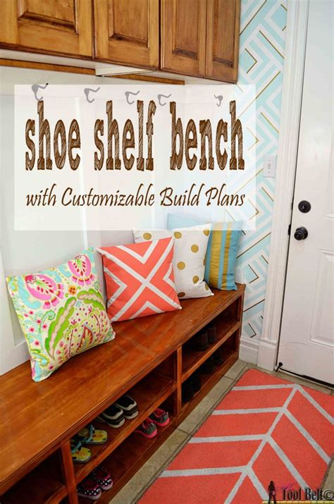 diy shoe rack bench 25 real life mudroom and entryway decorating ideas by
