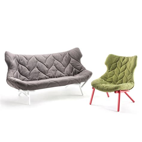 kartell couch the foliage sofa by kartell in the shop