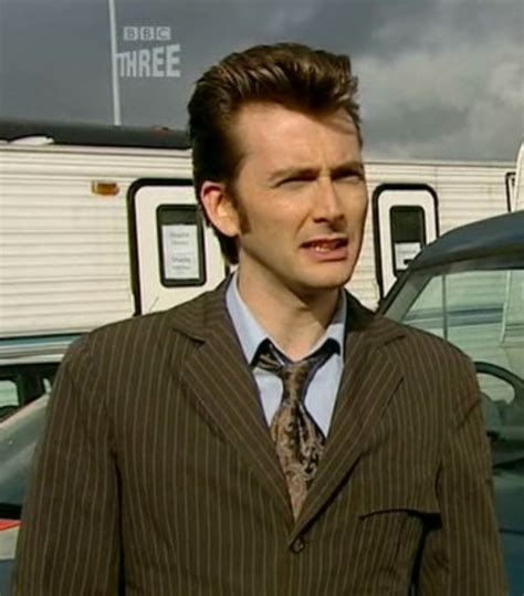 doctor who hairstyles david tennant auditioning for showaddywaddy the medium