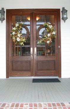 pictures of wreaths on doors google search debra s board arched top french door this is not a fiberglass door