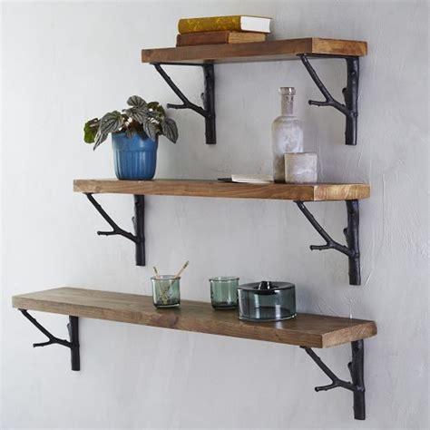 Branch Shelf Brackets by Reclaimed Wood Shelf Branch Brackets