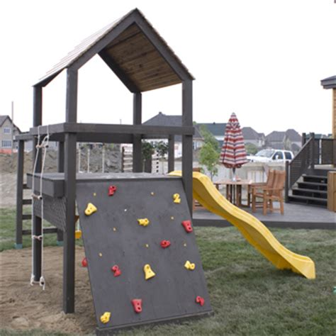Backyard Climbing Structures by Plan The Construction Of A Playground Structure