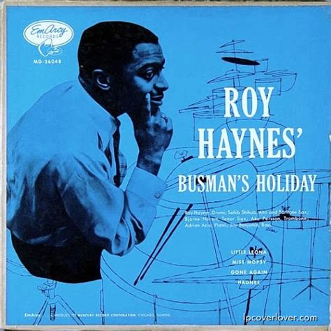 busmans holiday lpcover lover roy haynes busman s holiday