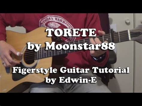 tutorial guitar torete torete by moonstar 88 fingerstyle guitar tutorial cover