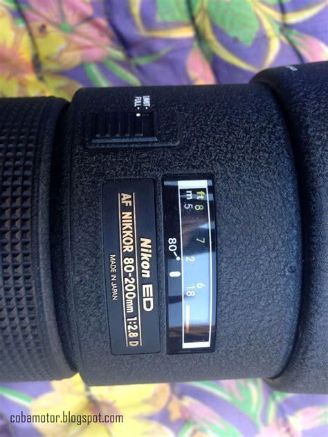 Lensa Nikon 80 200mm F2 8 Iii lensa nikon 80 200mm f 2 8 af push pull 2 si bongsor yang tajam bagi ilmu