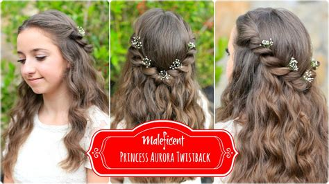 cute hairstyles disney princess aurora twistback inspired by disney s