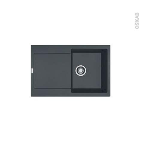 Evier Granit Noir 1 Bac by Evier De Cuisine Maris Granit Noir 1 Bac 233 Gouttoir 224