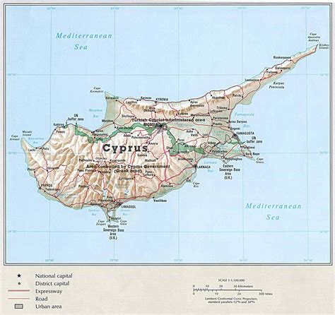 cyprus map cyprus maps printable maps of cyprus for