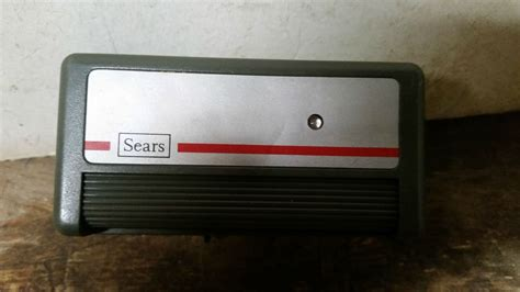 universal remote for old garage door opener