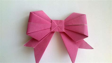 How To Make A Origami Bow - origami beautiful origami bows 3d origami bowser origami