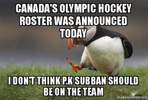 Canada Hockey Meme - team canada hockey memes