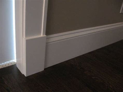 standard baseboard height craftsman style trim ideas hate the quot typical quot trim that