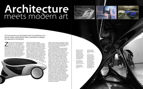 magazine layout with photos double page spread research matt wyles design