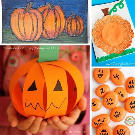 pumpkin crafts for pumpkin crafts and activities for easy peasy and