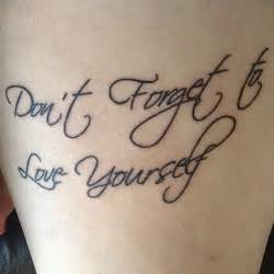 Love Quote Tattoo Ideas by A Life Filled With Love Quote Rib Cage Tattoo