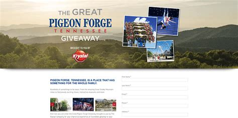 Pigeon Forge Sweepstakes - sweepstakeslovers daily pigeon forge lands end more