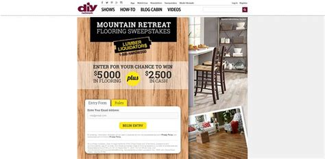 Flooring Sweepstakes - 2015 remodel sweepstakes autos post