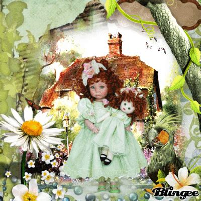 The Doll In The Garden by Doll In Garden Picture 130201977 Blingee
