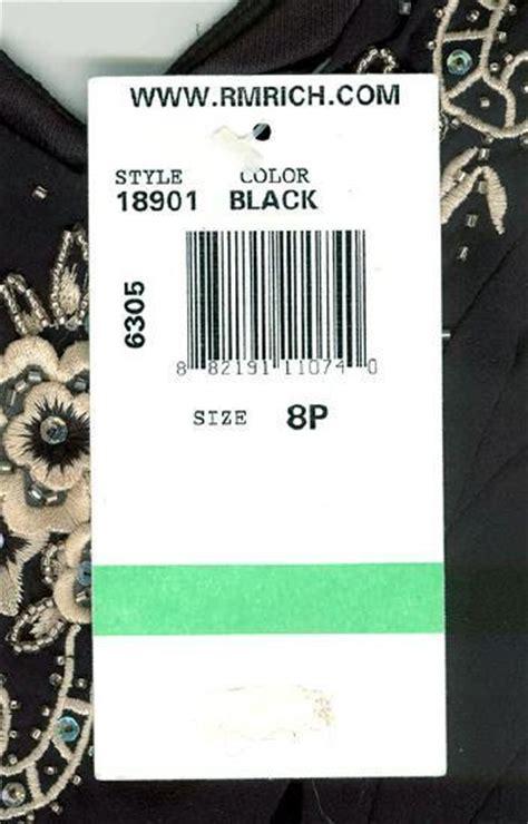 rm richards black embroidered applique handkerchief hem dress nwt ebay