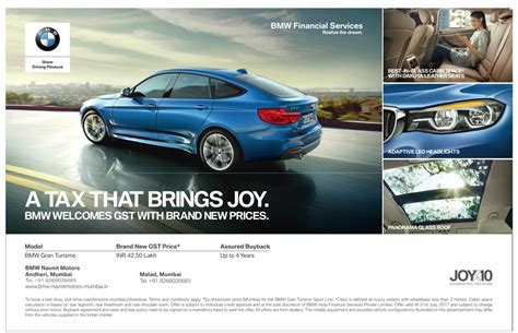 bmw advertisement bmw gran turismo offered price advertisement advert gallery