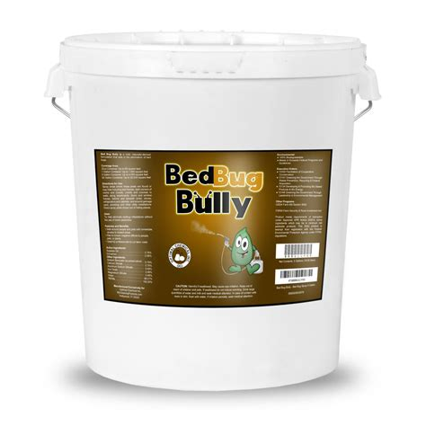 bed bug bully bed bug bully 5 gallon pail