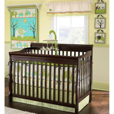 Elephant Baby Bedding Set Elephant Parade Crib Bedding Baby Bedding And Accessories