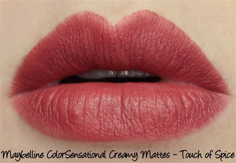maybelline color sensational maybelline colorsensational matte lipstick