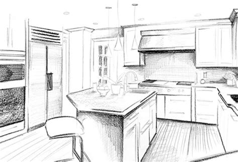 Kitchen Design Sketch Kitchen Sketch Design Www Imgkid The Image Kid Has It