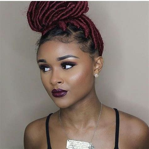 faux locs in southern california 17 best images about natural girl on pinterest flat