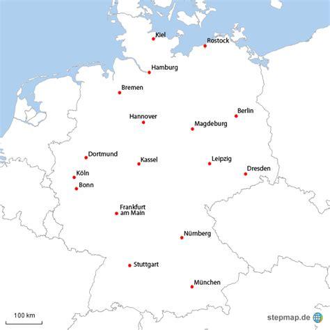 deutsches büro grüne karte telefonnummer deutsche gro 223 st 228 dte karte007 landkarte f 252 r deutschland