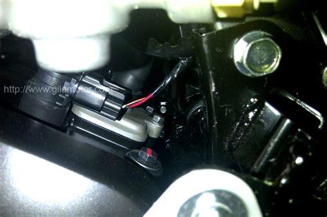 Lu Led Motor Z250 kawasaki z250 the black firefly gilamotor