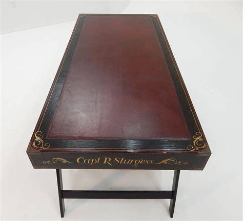 Captains Desk Antique by Antique 1900 Maritime Captains Caign Desk Quot Capt R