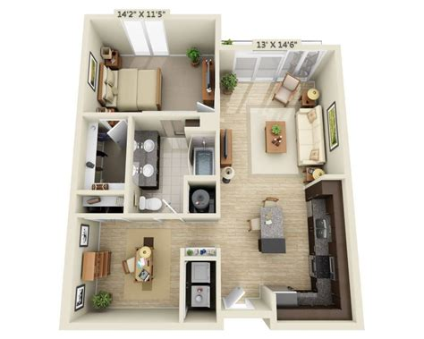one bedroom with den floor plans pricing for fiori on vitruvian park
