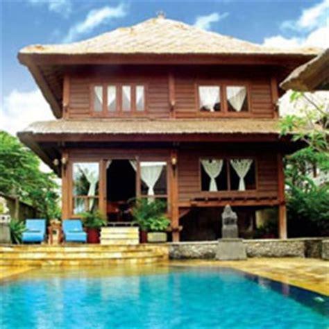 menghadirkan kesan mewah rumah kayu bertingkat  bali kumpulan artikel tips arsitektur
