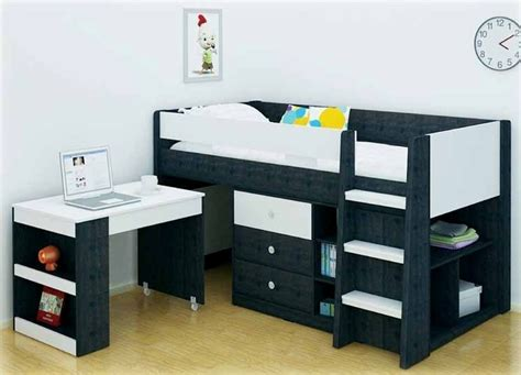 Reagan Storage Bunk Bed Kids Bed Single Bunk Bed With Storage