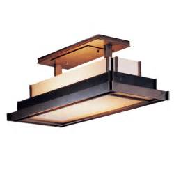 rectangular ceiling light fixture buy the steppe rectangular semi flush ceiling light