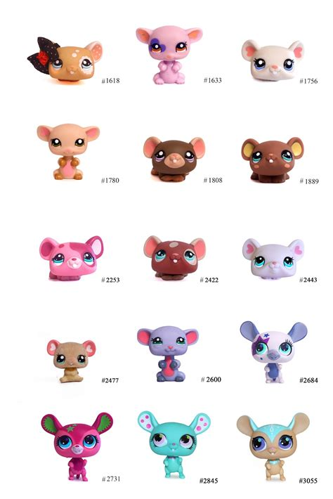 nicoles lps blog littlest pet shop pets mouse