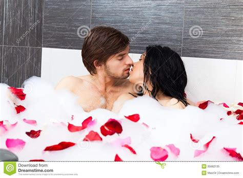 couples in bathroom couple in bathroom royalty free stock photo image 35682135