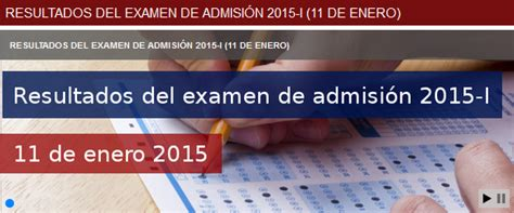relacion de examen de contratacion 2015 relacion de ingresantes a la uancv del examen de admision