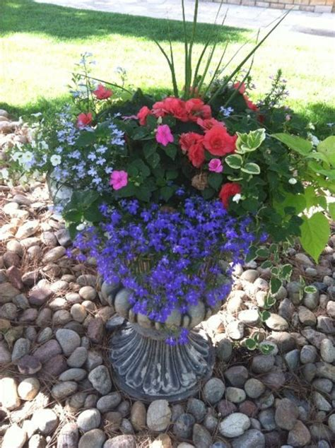 shade flower pots containers idea for covered porch or veranda thesecretgardener flowers
