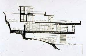 Floor Plan And Elevation Of A House haus fallingwater stewart township