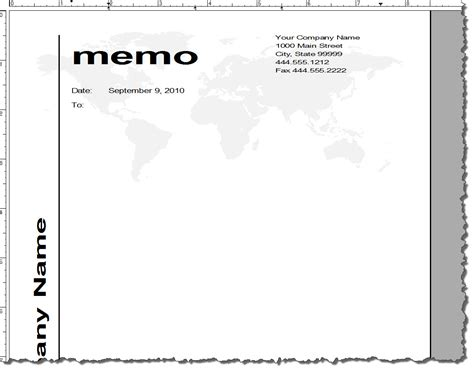 Memo Template Word 2010 Adobe Framemaker 9 Default Document Templates Technical Communication Center
