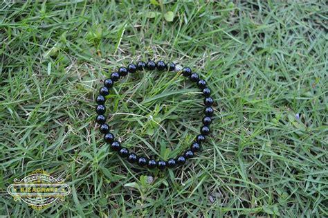 Gelang Tasbih Batu gelang tasbih batu hitam black onyx 33 171 jual gelang