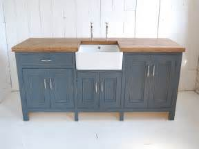 Free Standing Kitchen Sink Unit Belfast Sink Unit Eastburn Country Furniture